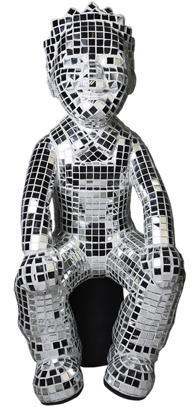 DISCO WULLIE - DESIGNED BY: HELEN STEPHENSON - SPONSORED BY: T IN THE PARK