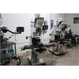 Vectrax GS16V vertical milling machine w/ Newall DRO