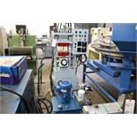 Heated hydraulic press