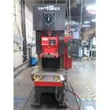 2006 Amada TP45EX 45 Metric Ton (49.5 Short Ton) Hydraulic Press s/n 72100691 SOLD AS IS