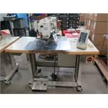 Juki AMS-210EN Industrial Sewing Machine s/n 2A3DF00034 w/ Juki IP-420 Controls, SOLD AS IS