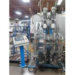 Custom 4-Head Automatic Drilling Machine w/ Allen Bradley PanelView 550 PLC Controller, SOLD AS IS