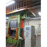 Wetori ISS-500 500 Ton Hot Forging Hydraulic Press w/ Phoenix Contact Touch Screen Cont, SOLD AS IS