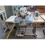 Juki AMS-210EN Industrial Sewing Machine s/n 2A3DF00037 w/ Juki IP-420 Controls, SOLD AS IS