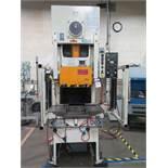 Aida NC1-60 60 Metric Ton (66 US Ton) Hydraulic Press s/n 10406-0115, 60-120 SPM, SOLD AS IS