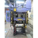 Clifton mdl. 503SPL APP 300 Ton 4-Post Hydraulic Forging Press s/n 1173, SOLD AS IS