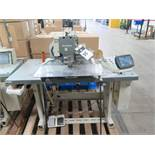 2011 Mitsubishi PLK-G2010R Industrial Sewing Machine s/n 111157 w/ Mits Touch Screen, SOLD AS IS
