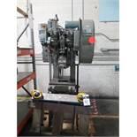 "Niagara A-15 15 Ton OBI Stamping Press w/ 180 Strokes/Min, 1.75"" Stroke, 1.5"" Slide Adj. SOLD AS IS"