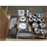 3-J Collets (10), (2) Collet Pad Sets, (2) Tool Folders(SOLD AS-IS - NO WARRANTY)