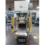 1999 Komatsu OBS45-32B 45 Ton Open Bac Hydraulic Press s/n 16368, 50-100 SPM, SOLD AS IS