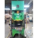 """Aida 150 150 Ton Hydraulic Press s/n 10415-0093 w/ Aida Controls, 6.3"""" Stroke, SOLD AS IS"""