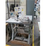Juki Industrial Sewing Machine w/ Juki MC-590 Intelligent Sewing System Controls, SOLD AS IS