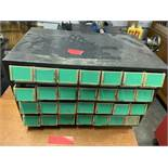 (2) 28 Compartment unit with 1 carbine insert