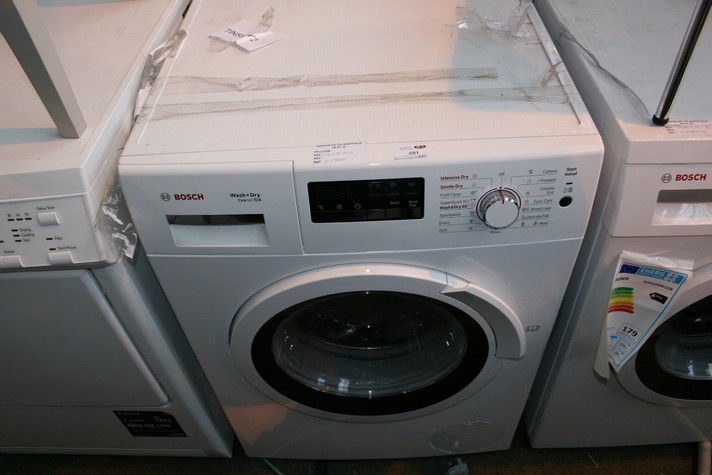 Lotto 681 1 X Bosch Wvh360gb Wash And Dry Excel 7 4 Under The