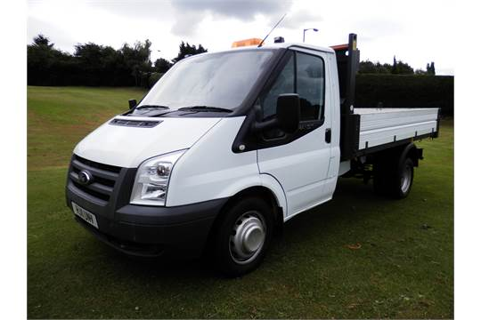 6797c95a956ce9 GT - 2011 11 PLATE FORD TRANSIT DROPSIDE TIPPER