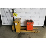 BT, BT PPT 1250 E, 1,250 KG., ELECTRIC WALKIE, 1998 WITH CHARGER, S/N 191138
