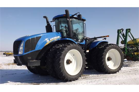 New Holland T9 450 Tractor '12, sn#ZCF216665 1395 Hrs, 4WD