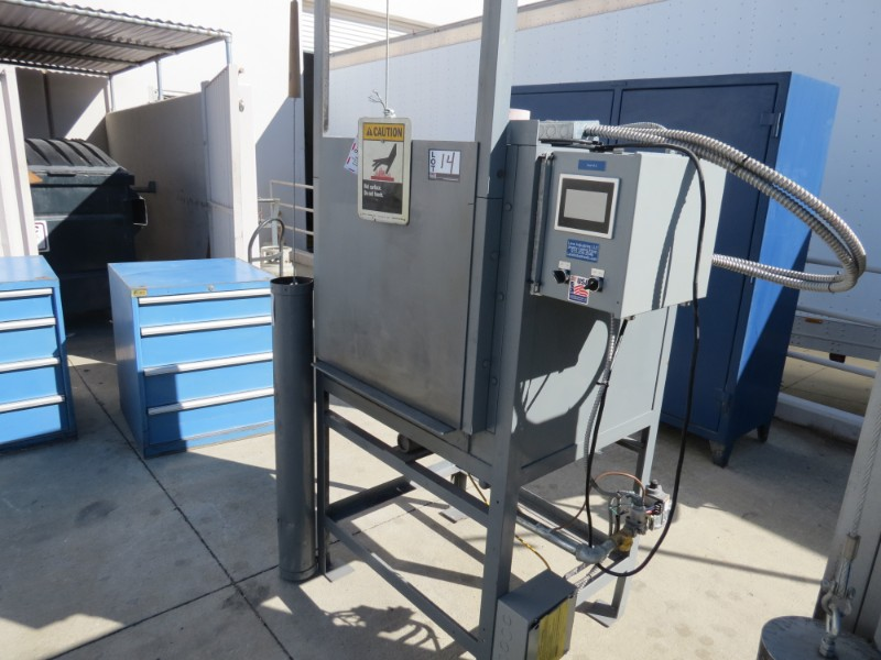 Lot 14 - Lane Industries Casting Oven (Moved Outside for Photos)