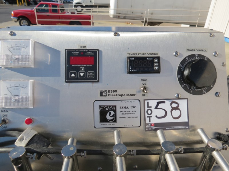 Lot 58 - ESMA E399 Electric Polisher, S/N399-76