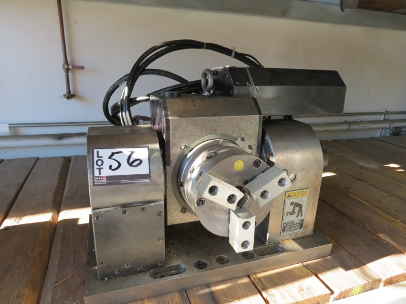 Lot 56 - Fadal TR65 5 Axis Trunnion, S/N3120695