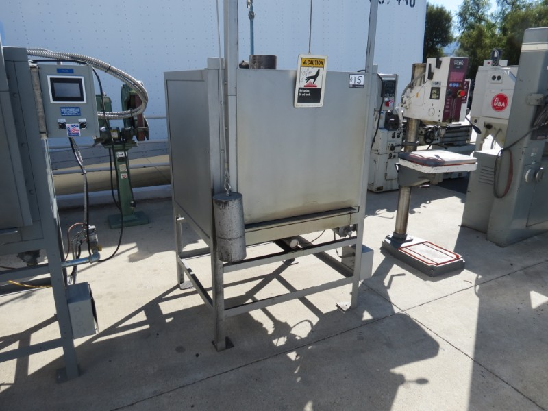 """Lot 15 - Lane Industries 26"""" x 26"""" Casting Oven, s/n 2626050512"""