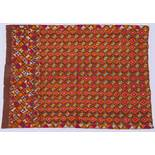 ANTIKER HANDDRUCK Baumwolle. Persien, 19. und 20. Jht. Derartige Textilien aus Baumwolle wurden