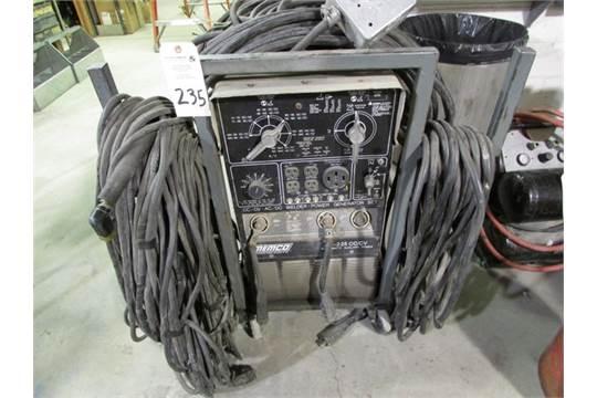 MEMCO Model AD-2258 CC/CV, AC/DC welder / generator