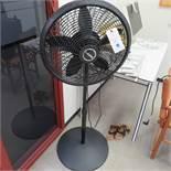 {LOT} Balance of Office c/o: Fan, Table, Bookcase, Etc.