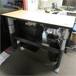 """Workrite 58"""" x 29"""" Electronic Height Adjustable Table"""