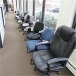 (14) Asst. Swivel, Arm & Side Chairs