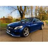 Reserve Met Mercedes Benz C220d 2dr Convertible AMG Line Premium 9G Tip Tronic - 2018 18 Reg -15k-