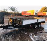 Ifor Williams 14ft Double Wheel Dropside Trailer - 2004/5 Year
