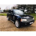 Range Rover Vogue 3.6 TDV8 Auto - 2007 07 Reg - Service History - Sat Nav - Full Leather