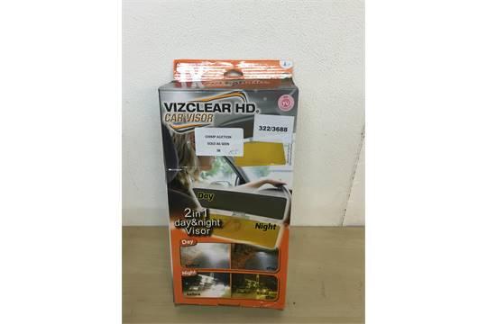 BOXED VIZCLEAR HD Vizclear 2-in-1 Day and Night Car Visor RRP   163 19.99 757b9f5f5ba