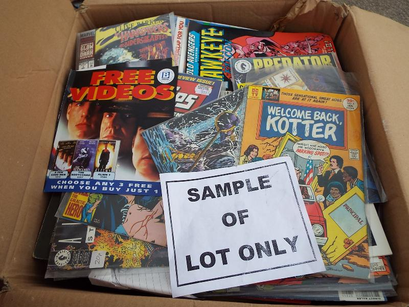 Lot 512 - A large quantity of comics, magazines an
