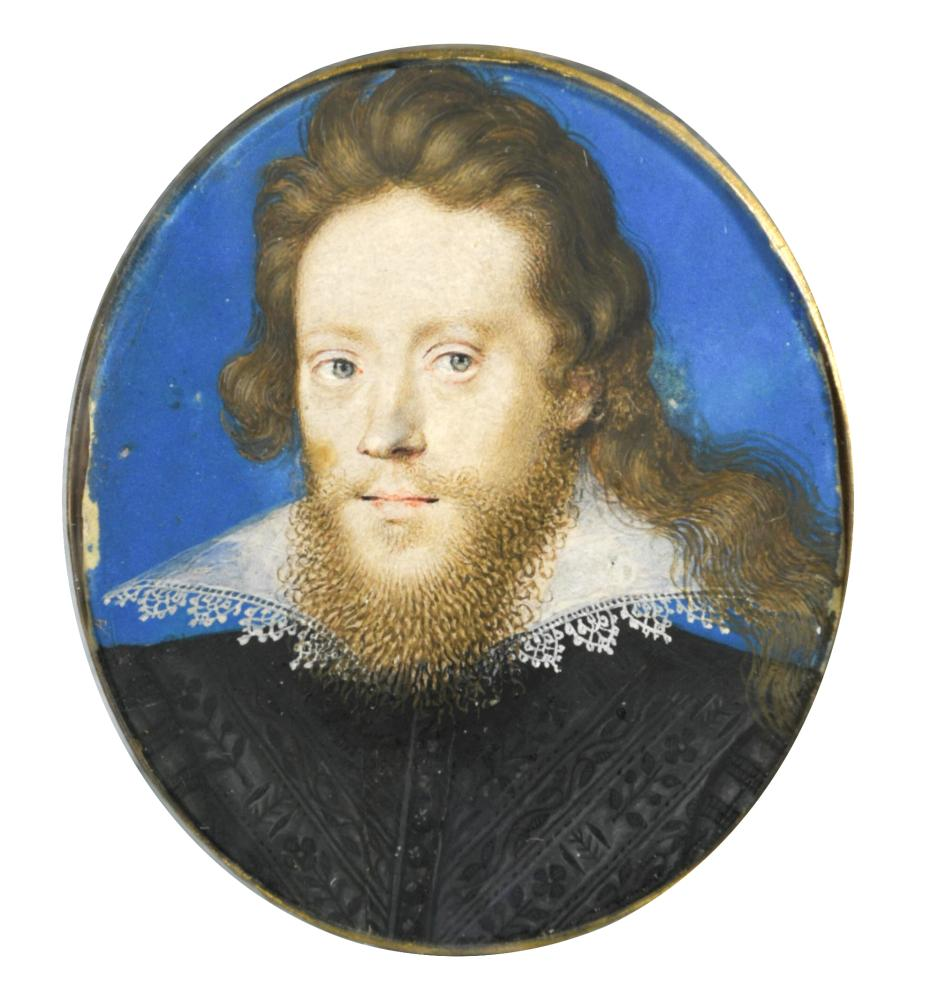 Lot 161 - Isaac Oliver (Anglo-French, c. 1565-1617) Portrait miniature of Thomas Fones (d. 1638) (later