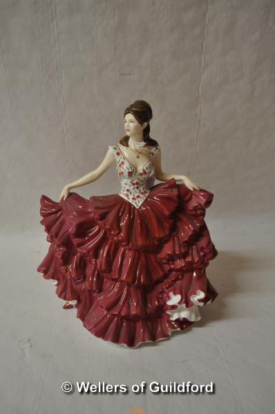 Lot 7483 - Royal Doulton limited edition figure 'Coral', 134/4950.