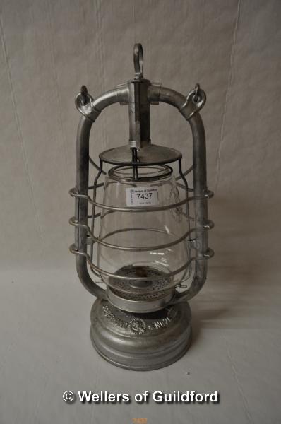 Lot 7437 - *Feuerhand 201 parafin storm lamp (Lot subject to VAT)