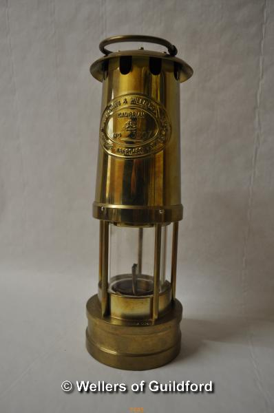 Lot 7445 - *E. Thomas & Williams miner's lamp (Lot subject to VAT)