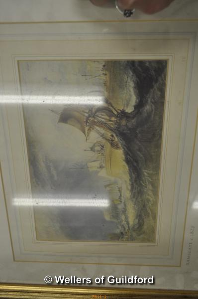 Lot 7511 - After Turner, a collection of modern prints: Venetian scenes, rivers of England and English ports (