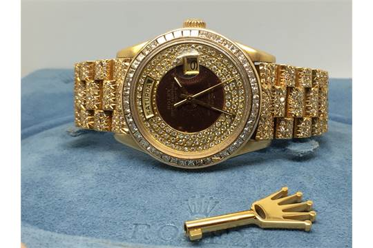 Diamond Encrusted Rolex Watches