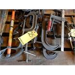 LOT C-CLAMPS