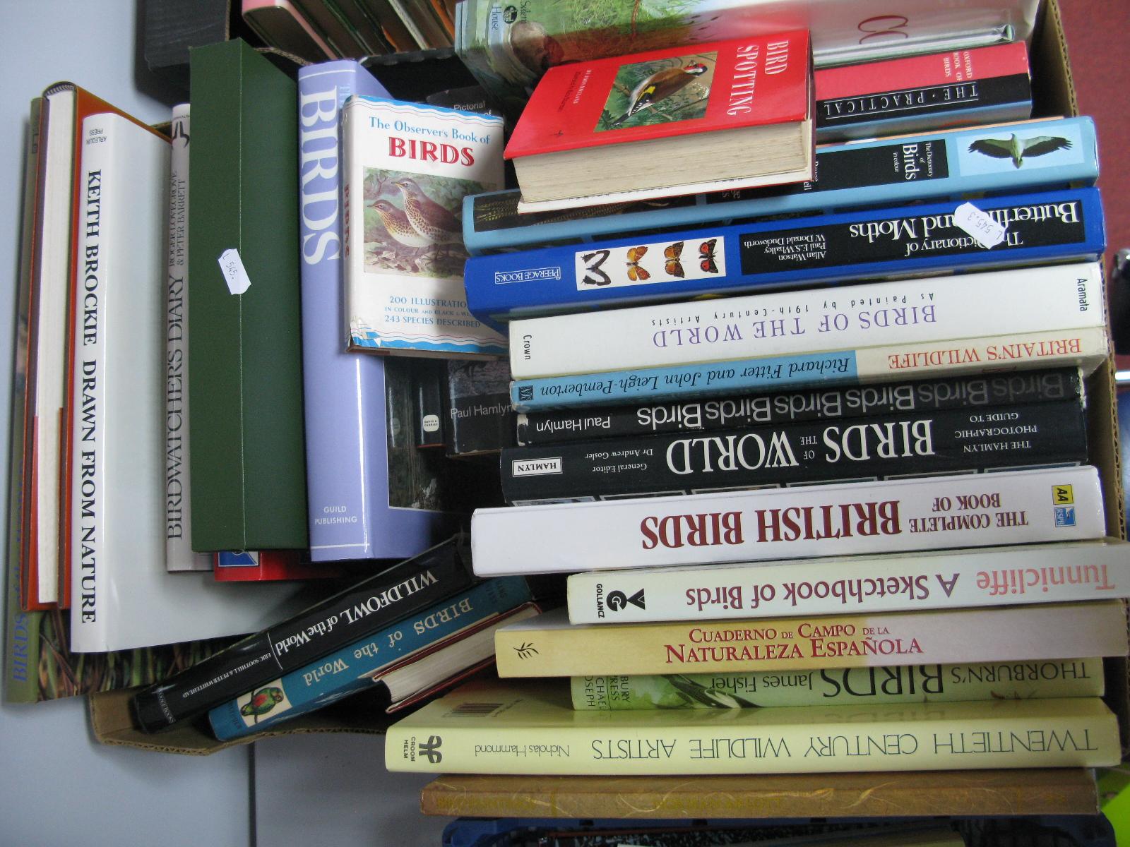 Ornithology and Wildlife Books, sketchbook of birds, Observers guide, Birds of the World, John