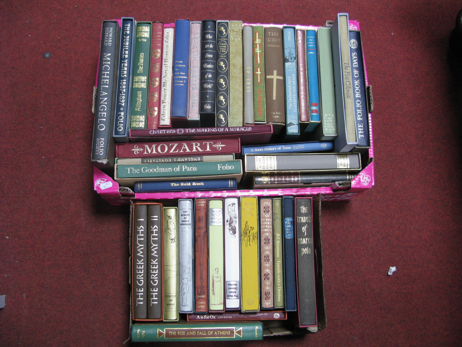 The Folio Society - Over forty books, historical reference and general interest, almost all in