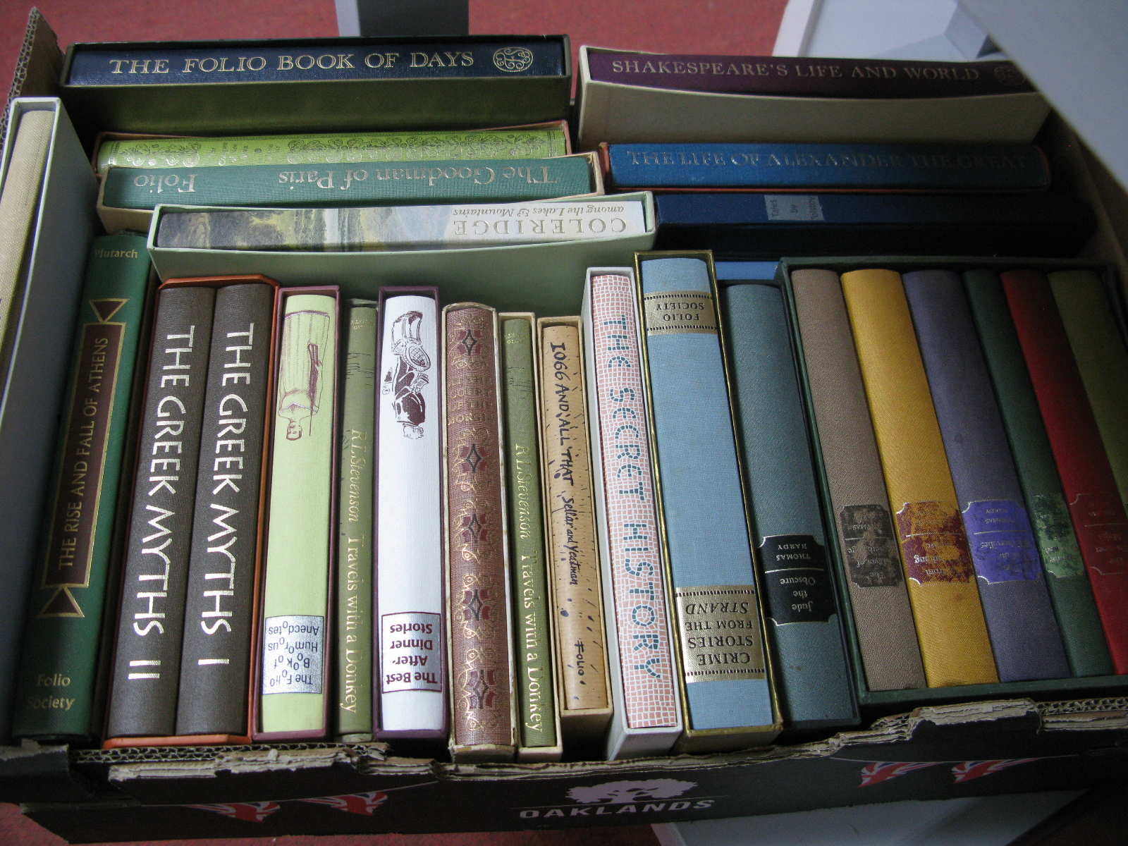 Thomas Hardy - The Wessex Tales, six volumes, The Folio Society, in slipcases; plus other general