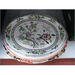 Ashworth, Mason's 'Christmas Village' and Other Oval Meat Plates.