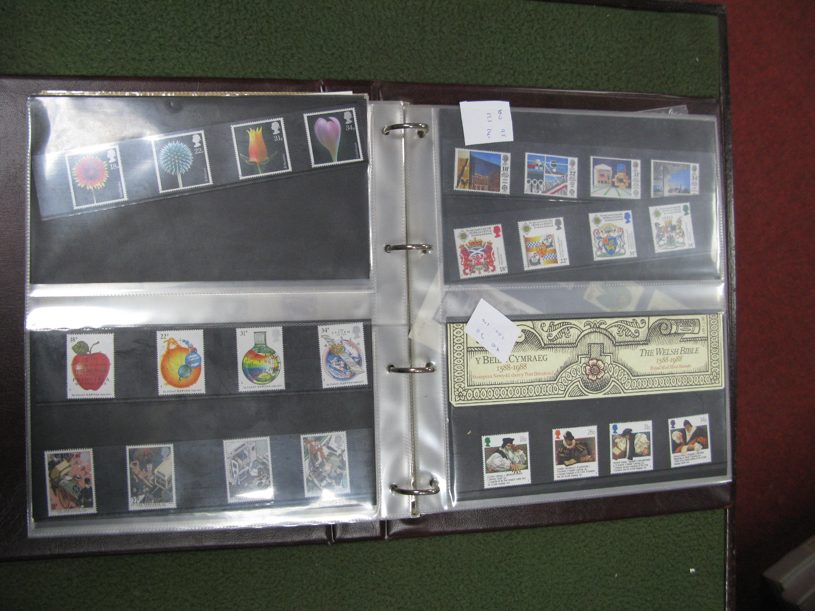 Lot 18 - An Album of First Day Covers and Unused Stamps.