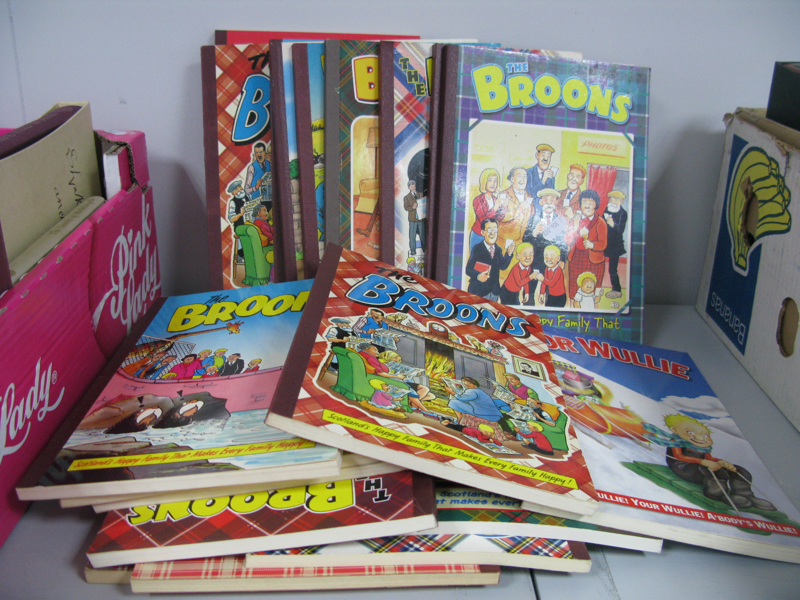 Lot 11 - Nineteen Copies of 'OOR Wullie' and 'The Broons', 1980's - 2000's.