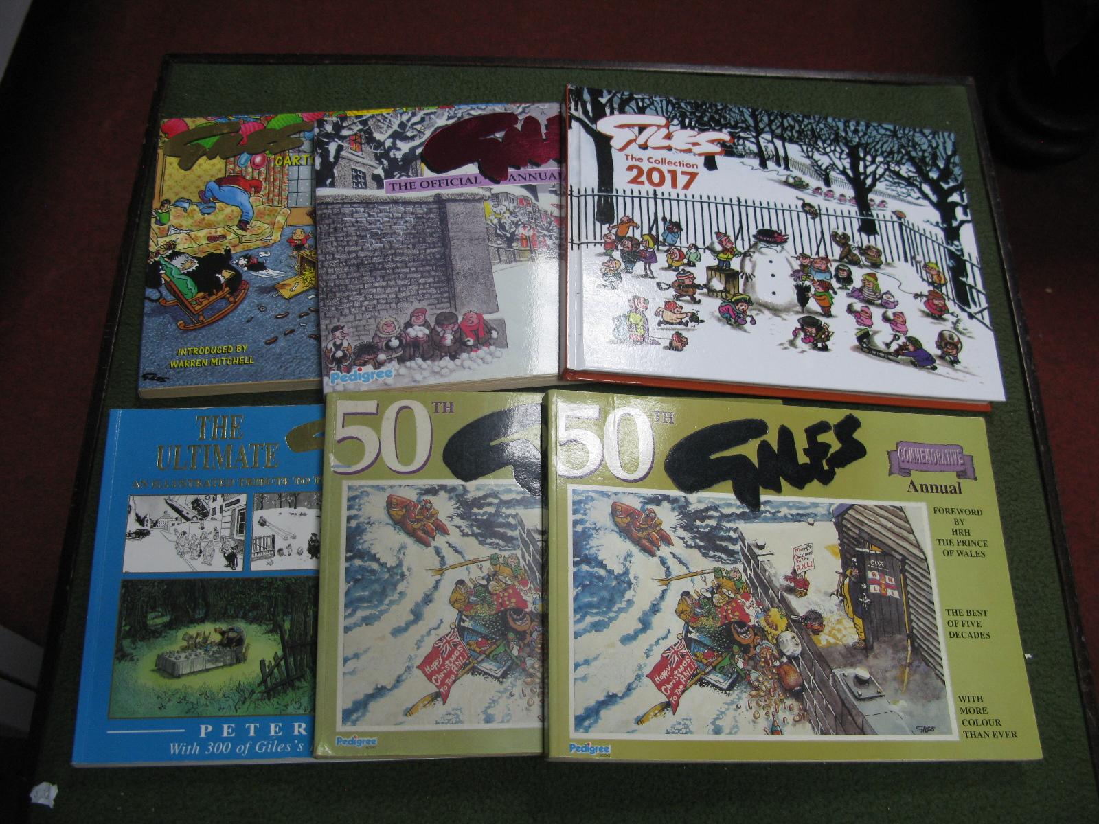 A Small Quantity of Giles Annuals.