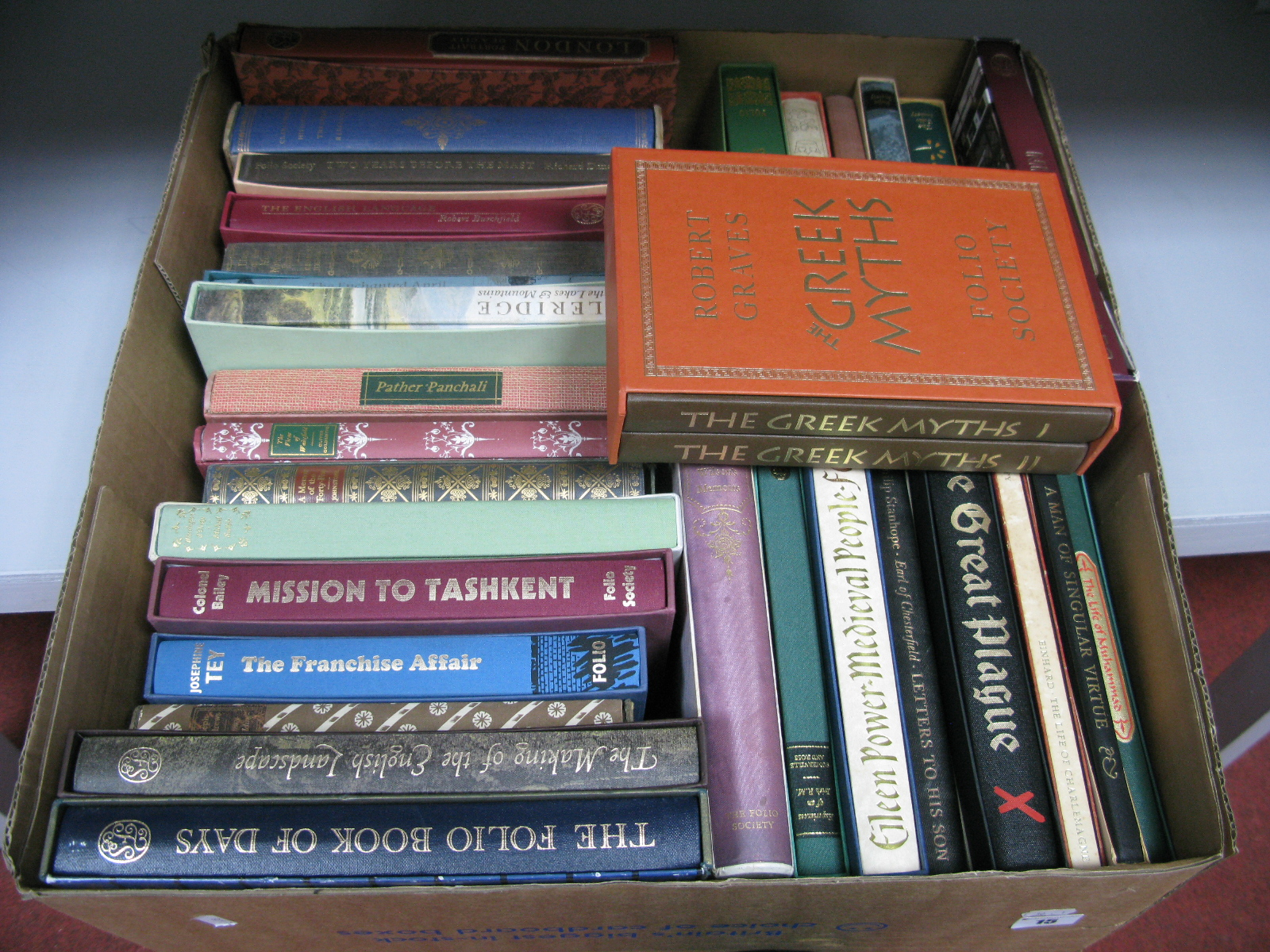 The Folio Society - Over thirty books, historical reference and general interest, almost all in
